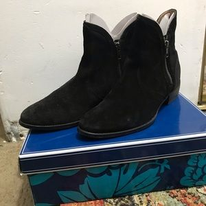 Seychelles lucky suede penny boots